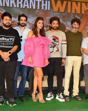 Ala Vaikunthapurramuloo Movie Success Meet Photos