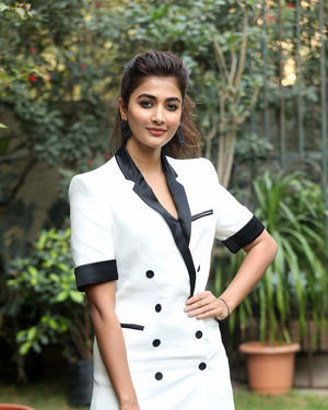 Pooja Hegde At Ala Vaikunthapurramuloo Movie Interview Photos | Picture 1714694