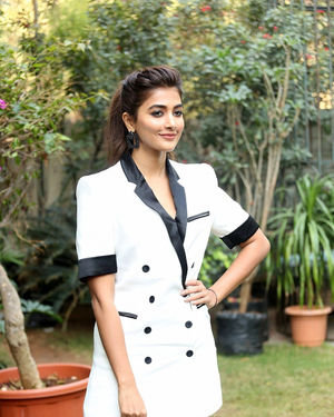 Pooja Hegde At Ala Vaikunthapurramuloo Movie Interview Photos | Picture 1714684