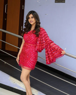Nabha Natesh - Disco Raja Movie 3rd Song Release Press Meet Photos   Picture 1714807
