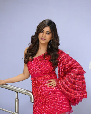 Nabha Natesh - Disco Raja Movie 3rd Song Release Press Meet Photos   Picture 1714808