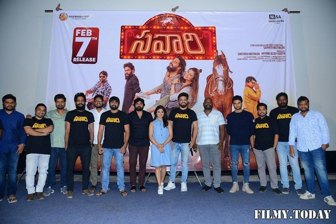 Savaari Movie Trailer Launch Photos | Picture 1716379
