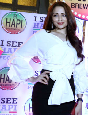 Zoya Afroz - Celebs At The Launch Of Hapi Brewing Co Photos