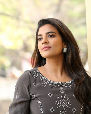 Aishwarya Rajesh At World Famous Lover Interview Photos | Picture 1718015