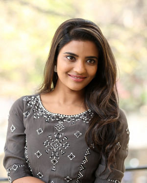Aishwarya Rajesh At World Famous Lover Interview Photos | Picture 1718012