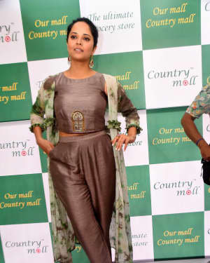 Anasuya At The Launch Of Country Mall Retail Store Photos | Picture 1724296