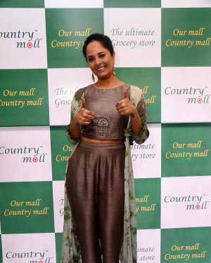 Anasuya At The Launch Of Country Mall Retail Store Photos | Picture 1724297