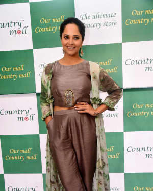 Anasuya At The Launch Of Country Mall Retail Store Photos | Picture 1724295