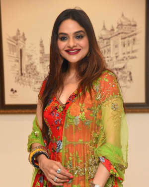 Madhoo Shah - College Kumar Movie Pre-release Event Photos | Picture 1724396