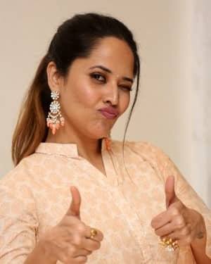 Anasuya Bharadwaj - O Pitta Katha Movie Pre-release Event Photos