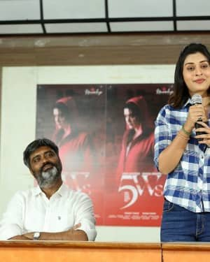 5WS Telugu Movie First Look Launch Photos | Picture 1725122