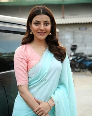 Kajal Aggarwal At The Promotion Of Priya Gold Oils Photos | Picture 1725047