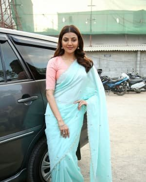 Kajal Aggarwal At The Promotion Of Priya Gold Oils Photos | Picture 1725049