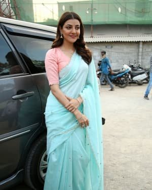 Kajal Aggarwal At The Promotion Of Priya Gold Oils Photos | Picture 1725045
