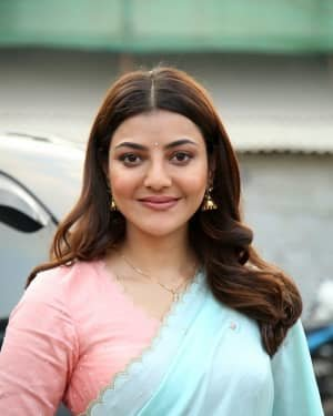 Kajal Aggarwal At The Promotion Of Priya Gold Oils Photos | Picture 1725056