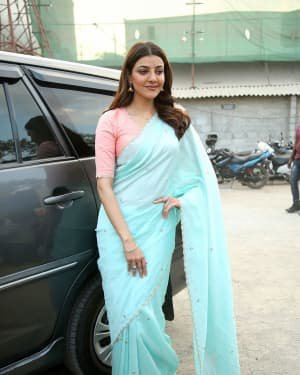 Kajal Aggarwal At The Promotion Of Priya Gold Oils Photos | Picture 1725051
