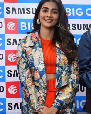 Pooja Hegde At The Launch Of Samsung Galaxy S20 At Big C | Picture 1725292