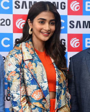 Pooja Hegde At The Launch Of Samsung Galaxy S20 At Big C | Picture 1725304