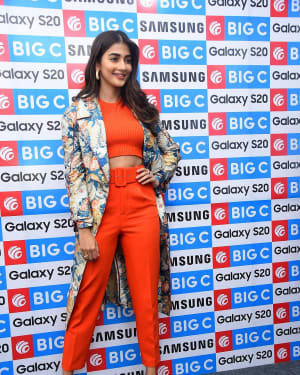 Pooja Hegde At The Launch Of Samsung Galaxy S20 At Big C   Picture 1725294