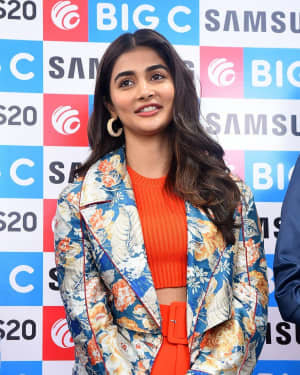 Pooja Hegde At The Launch Of Samsung Galaxy S20 At Big C | Picture 1725291
