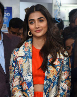 Pooja Hegde At The Launch Of Samsung Galaxy S20 At Big C   Picture 1725290