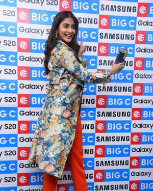 Pooja Hegde At The Launch Of Samsung Galaxy S20 At Big C   Picture 1725303