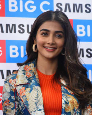 Pooja Hegde At The Launch Of Samsung Galaxy S20 At Big C