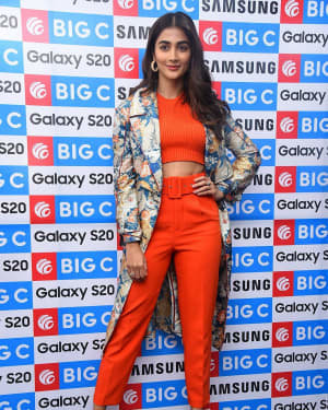 Pooja Hegde At The Launch Of Samsung Galaxy S20 At Big C   Picture 1725296