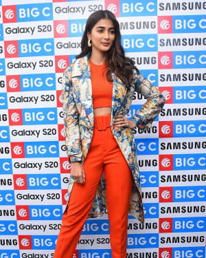 Pooja Hegde At The Launch Of Samsung Galaxy S20 At Big C   Picture 1725306