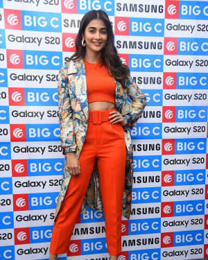 Pooja Hegde At The Launch Of Samsung Galaxy S20 At Big C   Picture 1725295