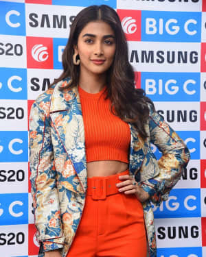 Pooja Hegde At The Launch Of Samsung Galaxy S20 At Big C   Picture 1725299