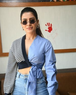 Samantha At The Launch Of Healthyway By Aryan Restaurant Photos