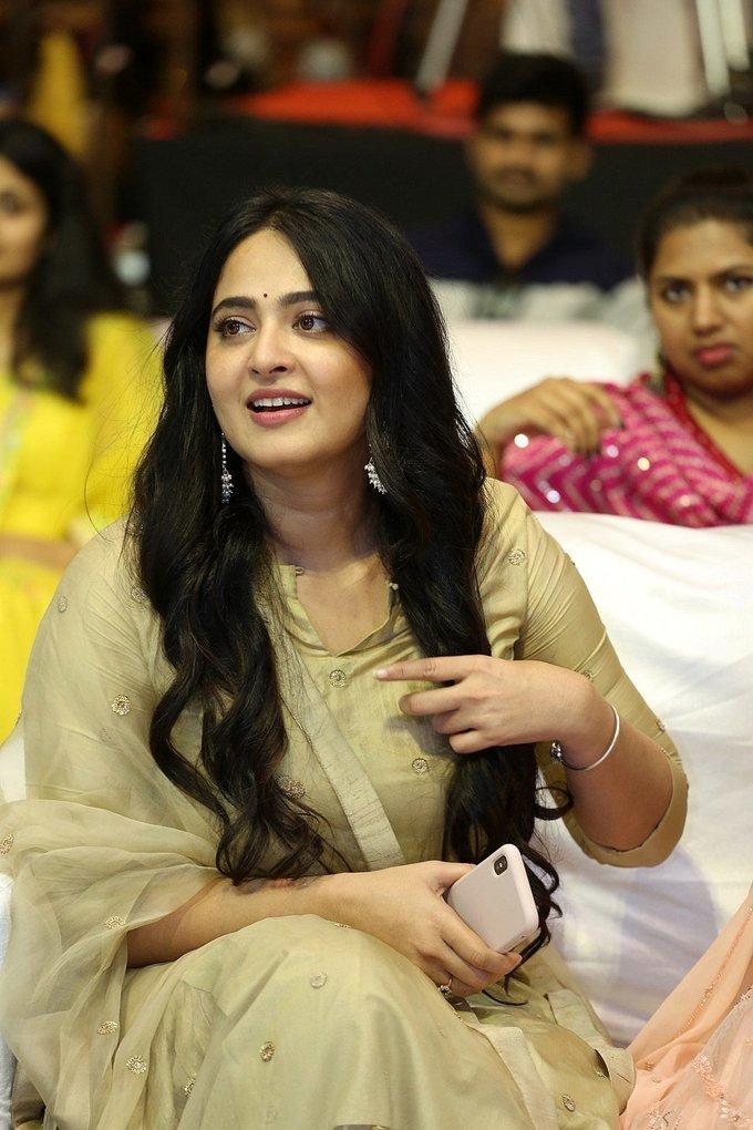 Anushka Shetty - Nishabdham Movie Pre Release Event Photos   Picture 1726165