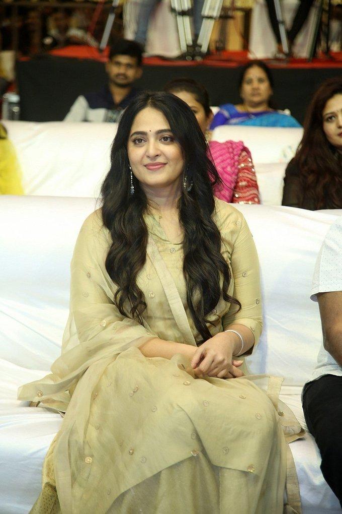 Anushka Shetty - Nishabdham Movie Pre Release Event Photos | Picture 1726153