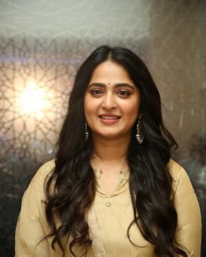 Anushka Shetty - Nishabdham Movie Pre Release Event Photos